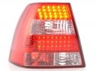 Фонари LED красно-белые Typ A тюнинг FK для VW Bora