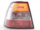 Фонари LED хром Typ C тюнинг FK для VW Bora