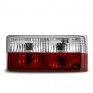 Тюнинг фонари JOM для VW Golf 1, красно-белые