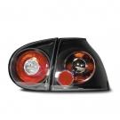 Набор задних фонарей черного цвета для VW Golf 5