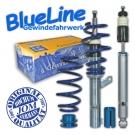 Комплект винтовой регулируемой подвески BlueLine для VW Golf 6