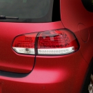 Альтернативная задняя оптика с LED подсветкой для VW Golf 6