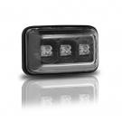 Боковые повторители LED черн JOM для VW Golf 1-2/Jetta 1-2