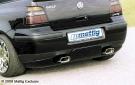 Накладка на задний бампер Typ B Mattig для VW Golf 4