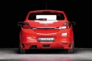 Накладка на задний бампер для Opel Astra H GTC
