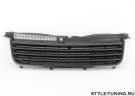Решетка радиатора без значка черная JOM для VW Passat B5+