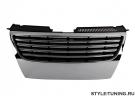 Решетка радиатора без значка хром JOM для VW Passat B6