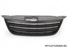 Решетка радиатора без значка черная JOM для VW Tiguan (07-11)