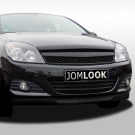 Решетка OPC look черная JOM для Opel Astra H 3D (05-07)